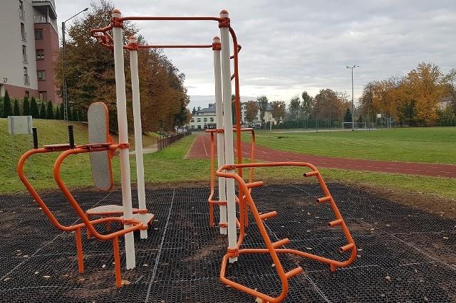 Nowy obiekt sportowy przy LO w Miechowie