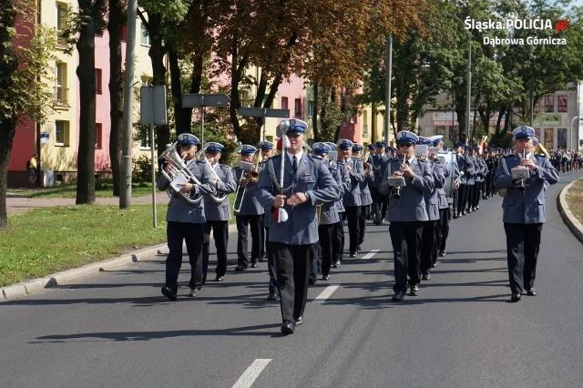 W Dąbrowie Górniczej odbyły się uroczystości upamiętniające polskich policjantów pomordowanych przez NKWD