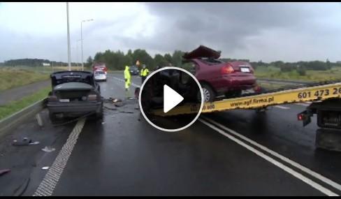 Wypadek w Bytomiu na DK 88