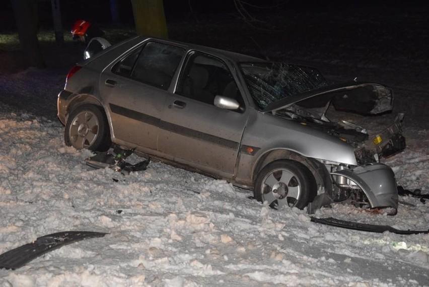 Krotoszyn: Poważny wypadek pod Perzycami. Zderzenie busa i...