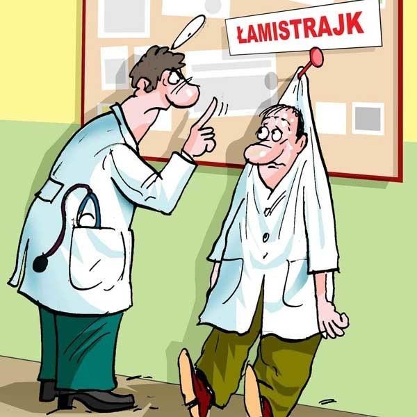 Związkowcy chcą piętnować lekarzy, którzy nie przyłączyli...
