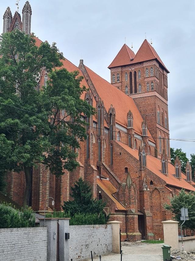 Kościół świętego Jakuba w Toruniu od wielu lat jest odnawiany