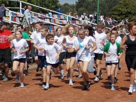 """W zawodach ,,Ósemka biega"""" obowiązywała jedna zasada: każdy kto dobiegnie do mety, jest zwycięzcą"""
