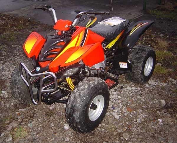 Quad, rocznik 2006, silnik 0,2 czterosuw, moc 13 KM. Cena 4500 zl