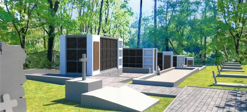 Tak będzie wyglądało kolumbarium na Cmentarzu Wojskowym w...