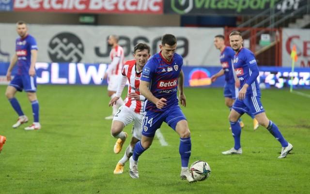 Mecz Piast Gliwice - Cracovia 2:0