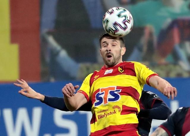 Jagiellonia ogłosiła nazwiska czterech piłkarzy, którzy po sezonie opuszczą klub. W tym gronie jest Maciej Makuszewski.