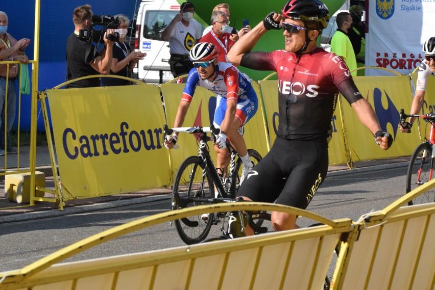 Tour de Pologne 2020. Finisz 3. etapu z Wadowic do Bielska-Białej