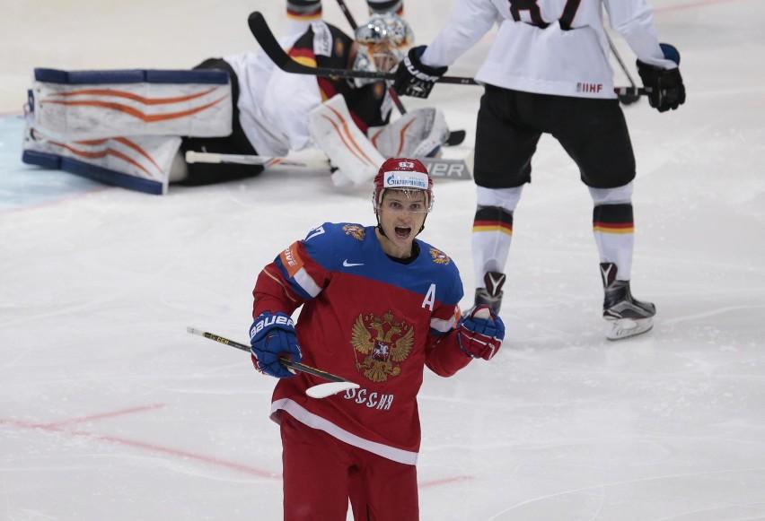 Hokejowe MŚ: Kanada demoluje Szwecję, pewna wygrana Rosjan