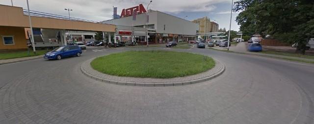 Rondo przy ul. Szybowcowej