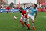 Dawne gwiazdy futbolu dały popis na Placu Czerwonym w Moskwie