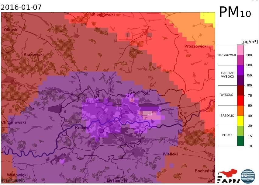 Smog W Malopolsce Bardzo Zly Stan Powietrza Najgorzej W Krakowie