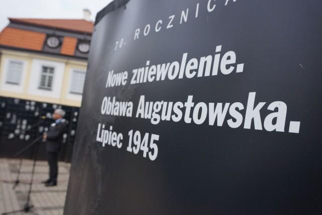 Białystok uczcił ofiary Obławy Augustowskiej