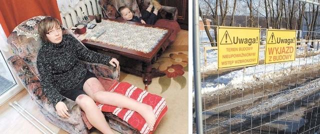 – Po wypadku nie wychodzę z domu, nie mogę się sprawnie poruszać i nie mam pojęcia, kiedy to się zmieni i czy w ogóle będę mogła wrócić do pracy – mówi Anna Kosińska. Obok, w drugim fotelu, siedzi jej syn Filip, który cudem uniknął obrażeń, gdy ciężarówka zahaczyła o wózek, w którym jechał.