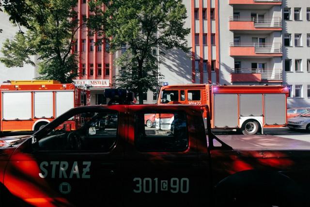 W szpitalu MSWiA czujki wykryły zadymienie. Sytuacja została opanowana. Zdjęcie ilustracyjne.