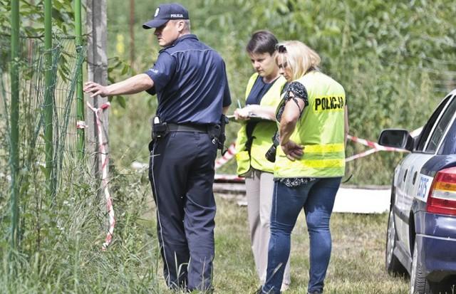 Na miejscu zdarzenia policjanci byli we wtorek przed południem.