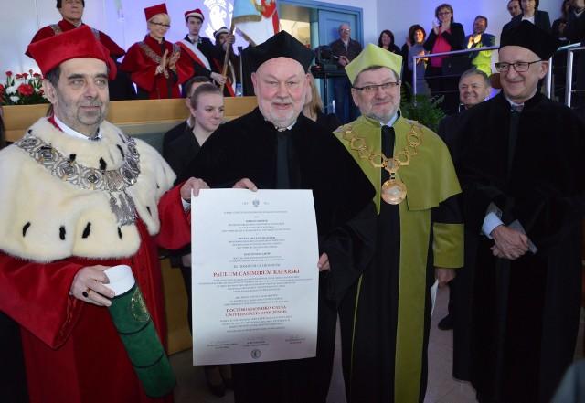 Prof. Paweł Kazimierz Kafarski to wybitny chemik, od piątku doktor honoris causa Uniwersytetu Opolskiego.