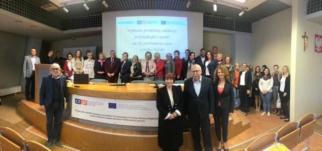 Uczestnicy konferencji mogli posłuchać m.in. wykładu na temat edukacji zdrowotnej w polskich szkołach.