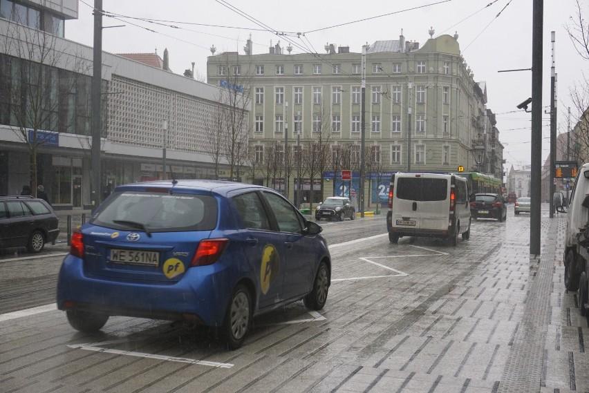Od poniedziałku, 11 marca, samochody wróciły na remontowaną...