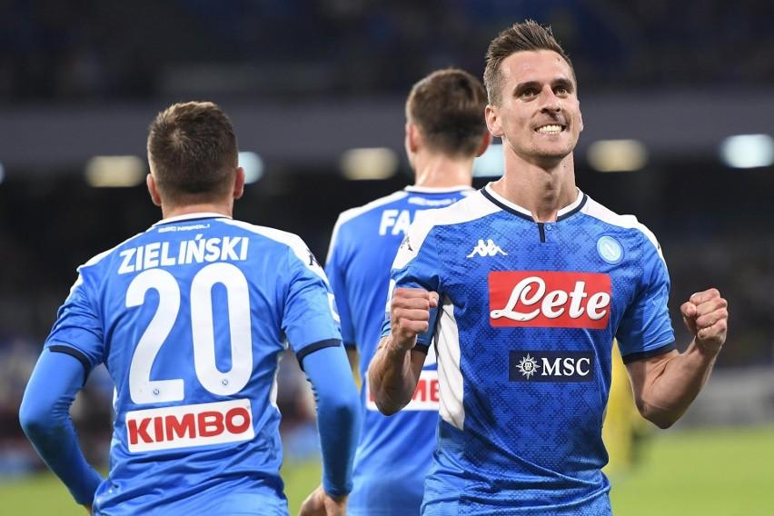 W ostatnim ligowym starciu z Veroną Milik strzelił dwa gole