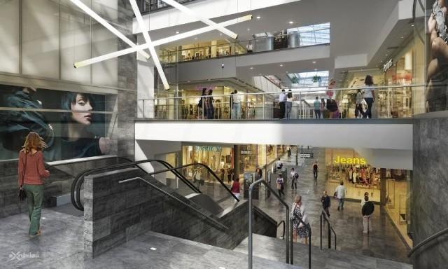 Tak będą wyglądać wnętrza nowej galerii