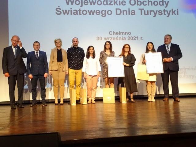 W Chełmnie zorganizowano dziś (30.09.2021) Wojewódzkie Obchody Światowego Dnia Turystyki połączone z IV. Regionalnym Forum Turystyki