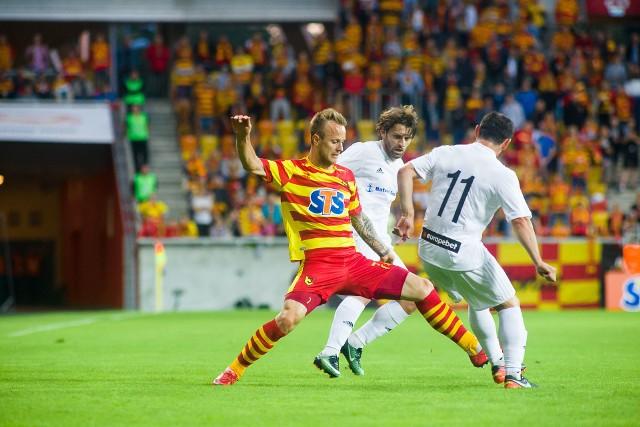 3 - Tyle bramek w dwumeczu z Dinamem Batumi jagiellończycy zdobyli po stałych fragmentach gry