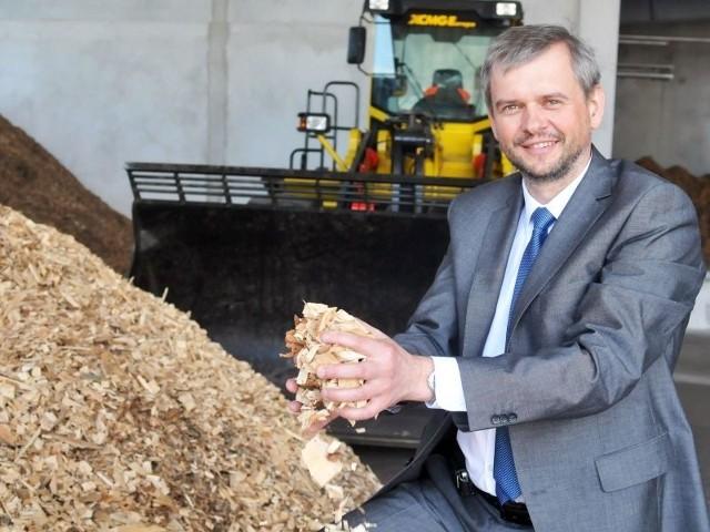 Ze spalania biomasy pochodzić będzie 50 proc. – mówi Janusz Fic