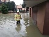 Pozalewane wszystko! Tak źle nie było od powodzi tysiąclecia w 1997 roku. Najwięcej podtopień w Rydułtowach, Lubomi i Zawadzie