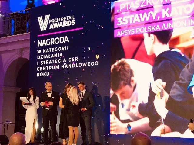 """Akcja """"Ptaszkowe Love"""" w Centrum Handlowym 3 Stawy w Katowicach została uznana za najlepszą akcję społeczną centrów handlowych w Polsce"""