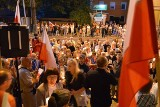 Kolejny wieczór protestów w Kielcach. Kielczanie chcą weta i wzywają do obalenia dyktatury