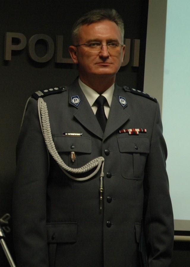 Nadinsp. Ryszard Wiśniewski komendantem wojewódzkim w Gorzowie był od lutego 2012 r.