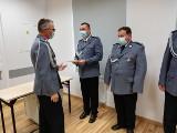 Policjanci z Wąbrzeźna otrzymali awanse w dniu Święta Policji 2020. Mamy zdjęcia!