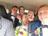 Piękny ślub piłkarza Hetmana Włoszczowa Sebastiana Walaska i wybranki jego serca Agaty. Byli koledzy z drużyny [ZDJĘCIA]