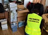 Papierosy bez akcyzy były w prawie wszystkich meblach domu w Laszkach koło Jarosławia  [ZDJĘCIA]