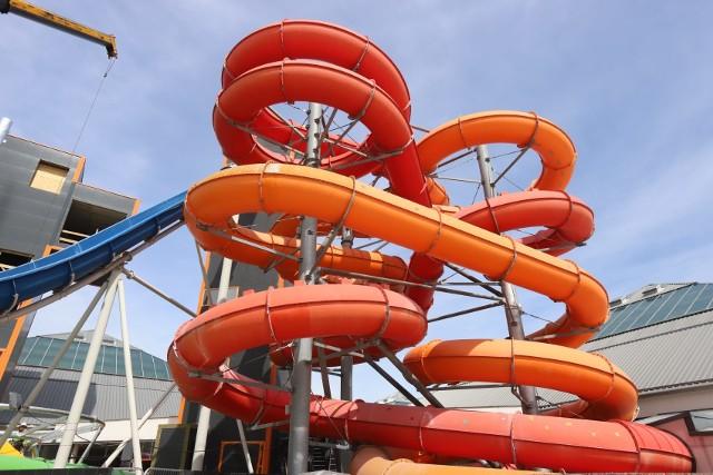 Aquapark Fala rozbudowuje się i planuje nowy sezon, ale wciąż czeka na wytyczne sanitarne