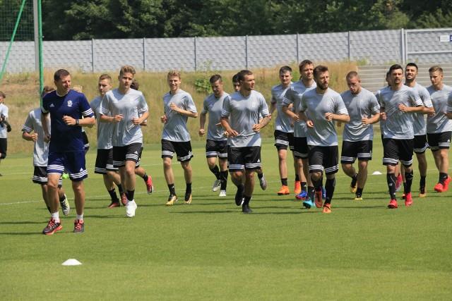 Pierwszoligowy ŁKS Łódź ma za sobą pierwszy trening