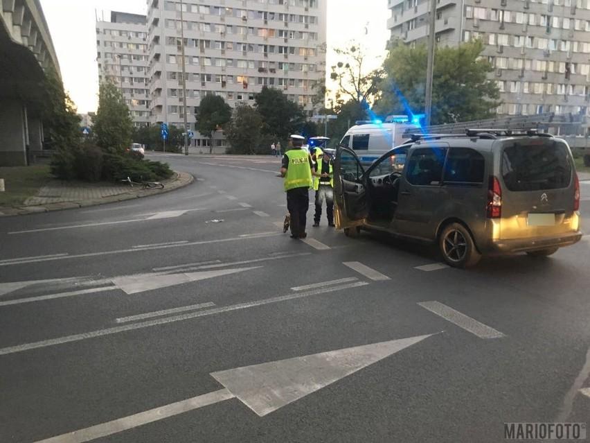 Do wypadku doszło o godz. 19.15 na ulicy Nysy Łużyckiej w Opolu.