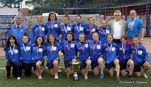 Ekipa mz Głogówka w komplecie i z medalami.