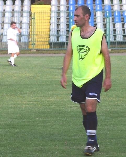 """W """"Stalówce"""" w sparingu z Avią zagrał Ormianin Garibian."""