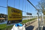 Most tymczasowy w Krośnie Odrzańskim. Wykonawca się przygotowuje. Kiedy ruszą i ile potrwają prace?