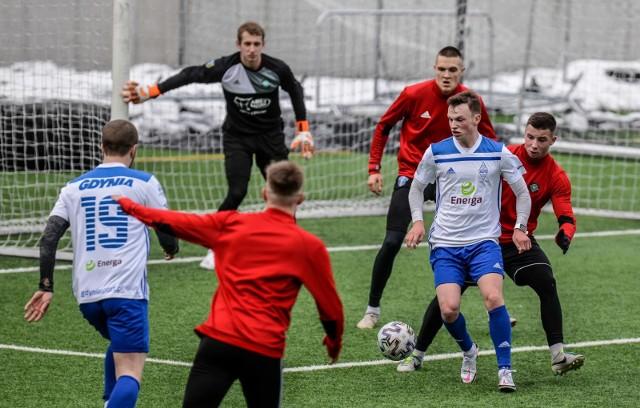 Bałtyk Gdynia uległ w meczu sparingowym GKS-owi Wikielec 2:3