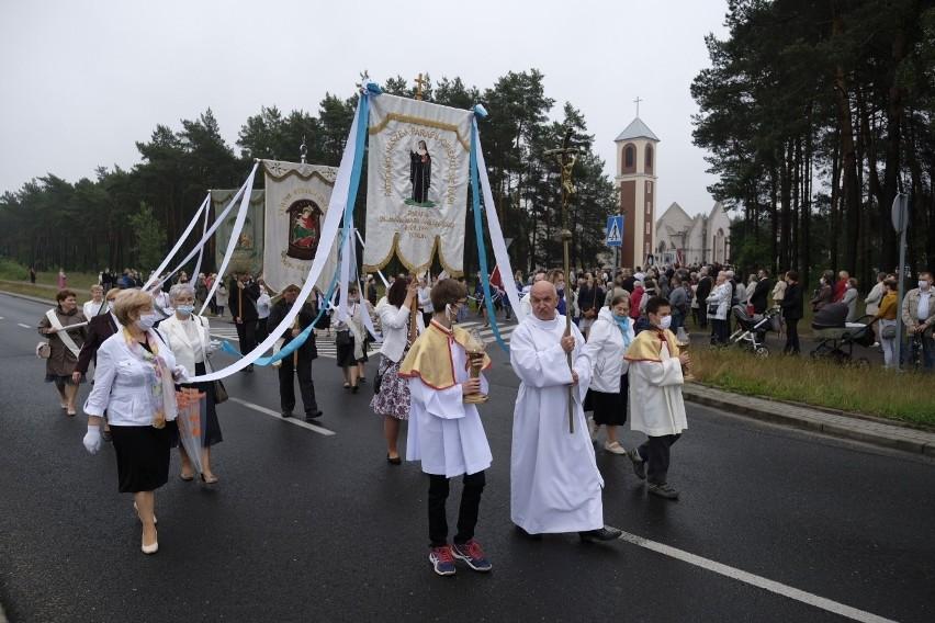 Tradycyjna procesja z okazji Bożego Ciała wyruszyła dziś o...