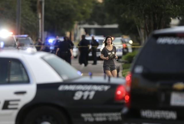 Miejsce strzelaniny w Houston