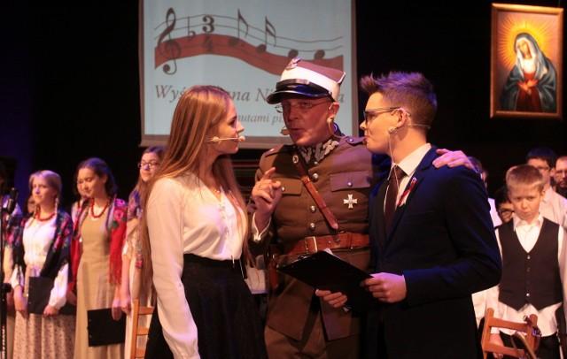 """Koncert """"Wyśpiewana Niepodległa"""" w Oratorium świętego Filipa Neri w Radomiu."""