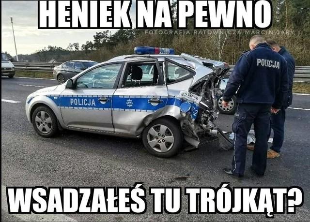 Memy o policjantach z drogówki