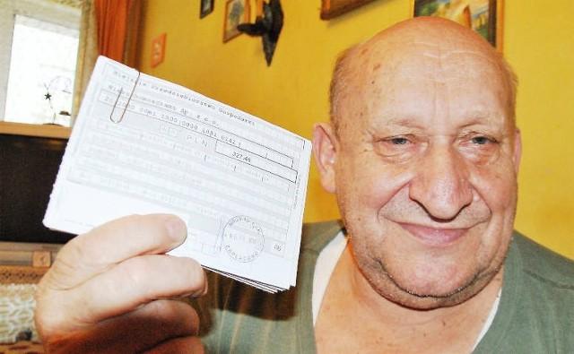 Trzeba będzie płacić wyższy czynsz- Nie ma wyjścia... Trzeba będzie płacić wyższy czynsz - mówi emeryt Jan Kubański