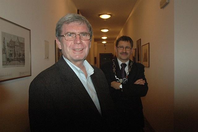 Jak wynika z wyjaśnień starosty, pretensje dyrektora głogowskiego muzeum (na zdjeciu) są bezpodstawne.