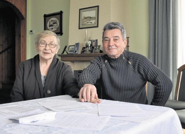 Stanisława i Wiesław Szymulowie walczą o swój dom od sześciu lat. Sami go zbudowali