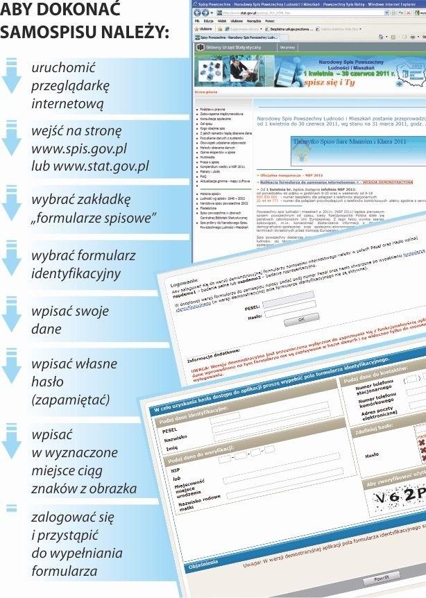 Spis Powszechny 2011. Zobacz jak się spisać